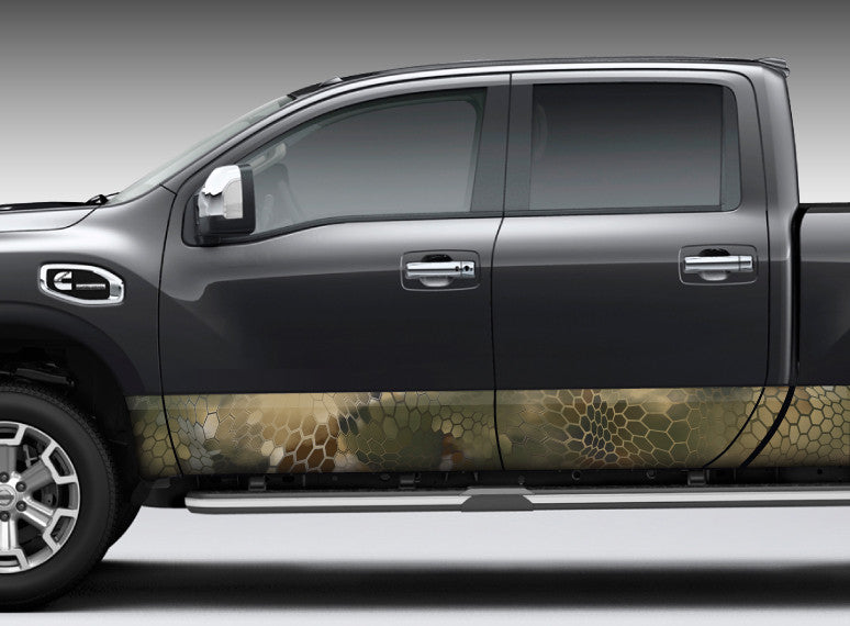 "Camo ""Chameleon"" Rocker Panel Decal Kit"