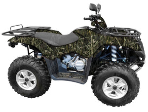 """Crappie"" Fish Camo ATV Wrap Kit"