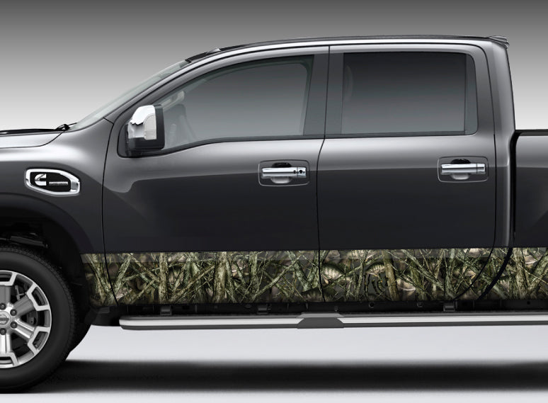 "Camo ""Crappie Camo"" Rocker Panel Decal Kit"