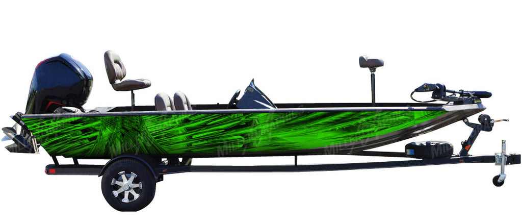 Cyclone (Green) Boat Wrap Kit