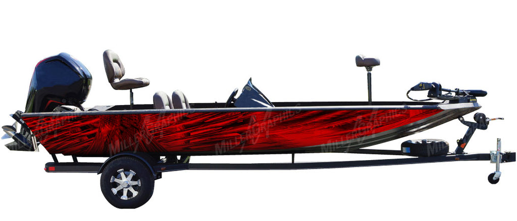 Cyclone (Red) Boat Wrap Kit