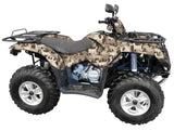Deer Silhouette Camo ATV Wrap Kit