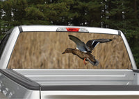 Duck Flying Rear Window Decal