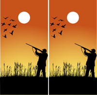 Duck Hunter Silhouette