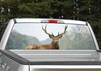 Lone Elk #2 Rear Window Decal