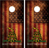 "Gadsden American Flag #3 ""Don't Tread On Me"""