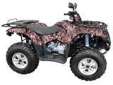 """Grassland Pink"" Camo ATV Wrap Kit"
