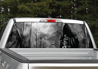 Grim Reaper #2 Forest Rear Window Decal