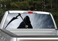 Grim Reaper #3 Rear Window Decal