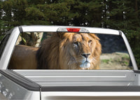 Lion #2 Rear Window Decal
