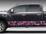 "Camo ""Obliteration Pink"" Rocker Panel Decal Kit"