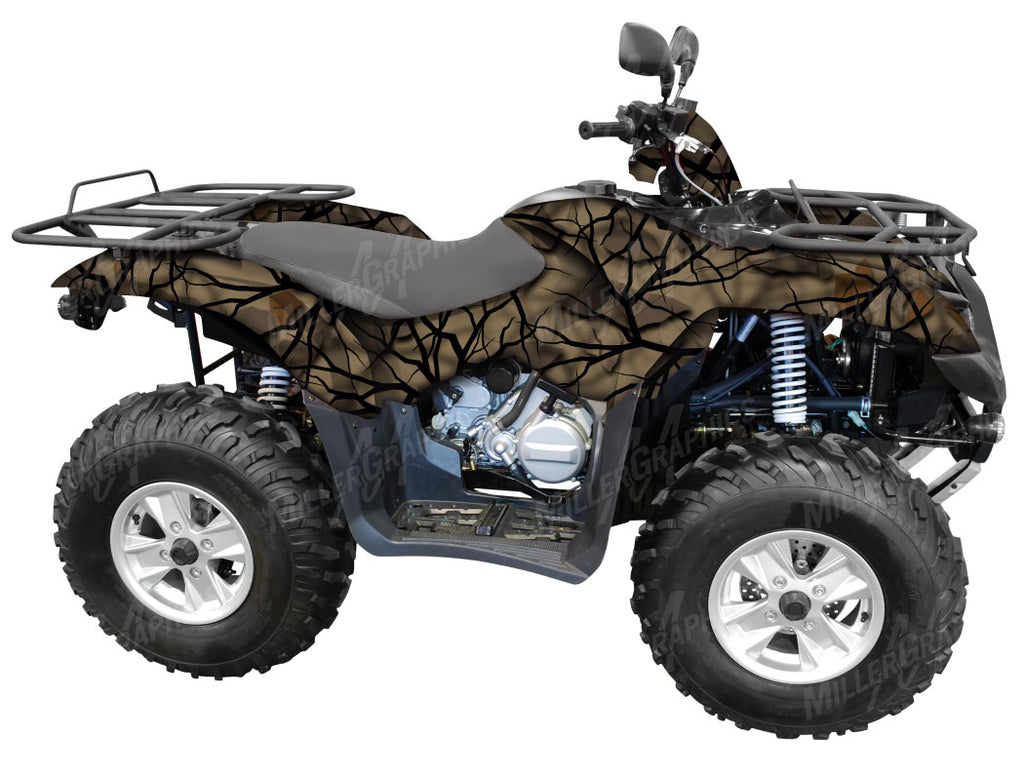 """Savage Fall"" Camo ATV Wrap Kit"