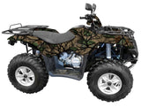 """Savage Green"" Camo ATV Wrap Kit"