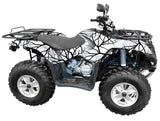 """Savage Snow"" Camo ATV Wrap Kit"