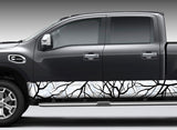 "Camo ""Savage Snow"" Rocker Panel Decal Kit"