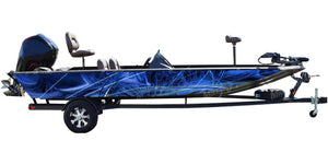 Taurus (Blue) Boat Wrap Kit