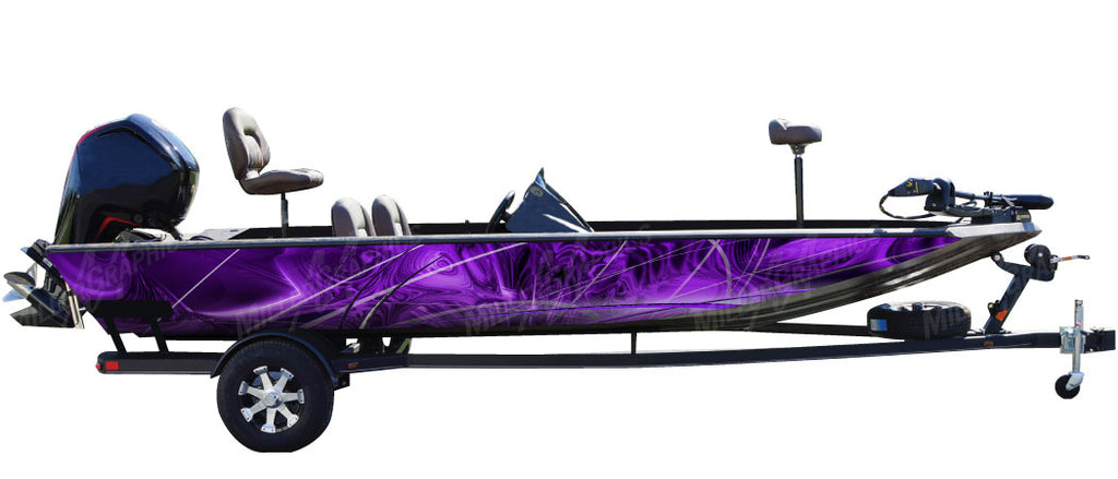 Taurus (Purple) Boat Wrap Kit