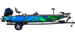 Triton (Blue Green) Boat Wrap Kit