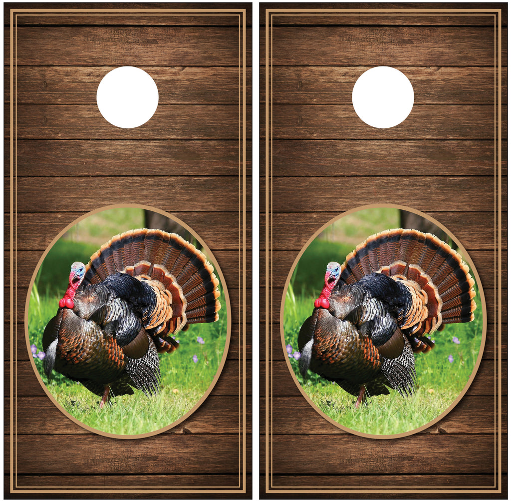 Turkey Distressed Wood Background