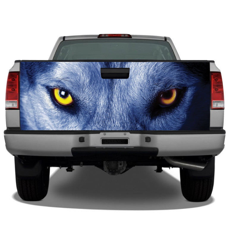 Wolf Eyes Tailgate Wrap