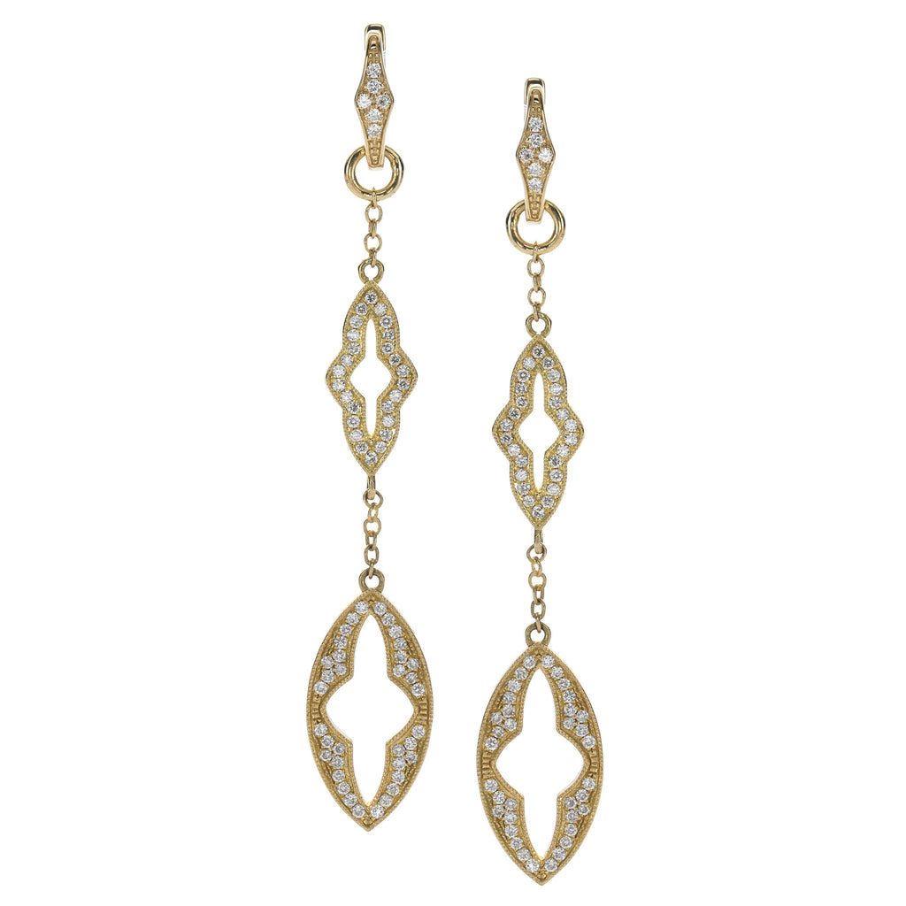 Katie Decker Gothic Link Earrings