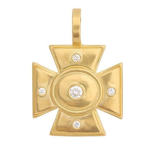 "LPL Signature Collection ""The Ellen"" 18kt Yellow Gold Pendant"