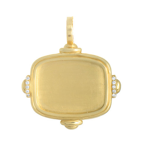 "LPL Signature Collection ""The Polly"" 18kt Yellow Gold Pendant"