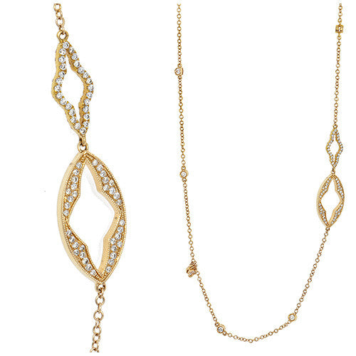18kt Yellow Gold Gothic Chain