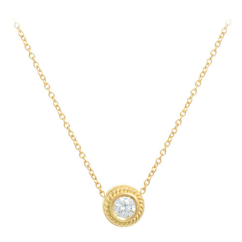 Penny Preville Bezel Set Diamond Necklace