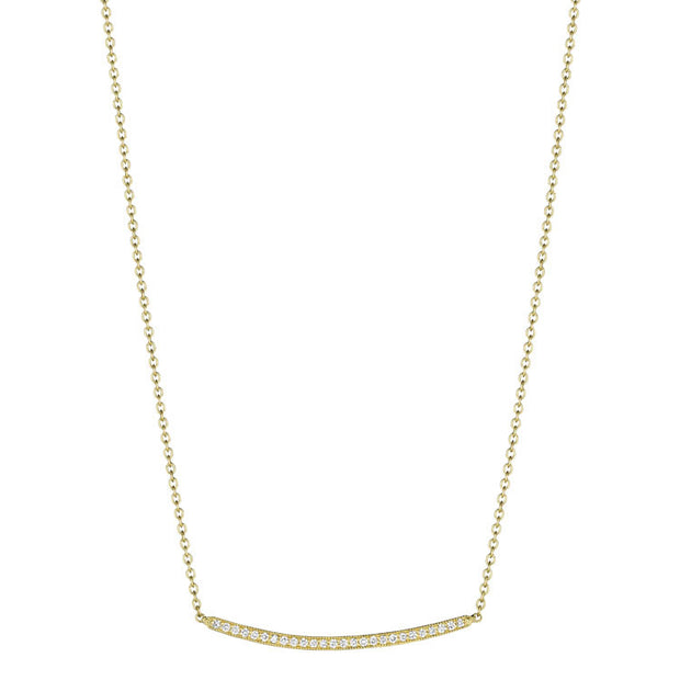 Penny Preville Thin Bar Necklace
