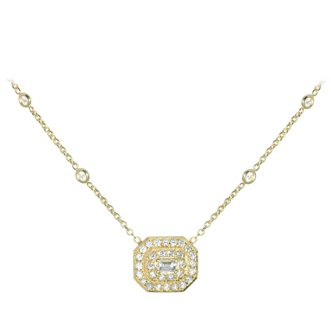 Penny Preville 18kt Yellow Gold and Diamond Necklace