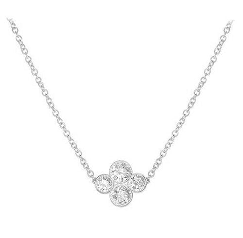 LPL Signature Collection Platinum Large Anderson Diamond Necklace
