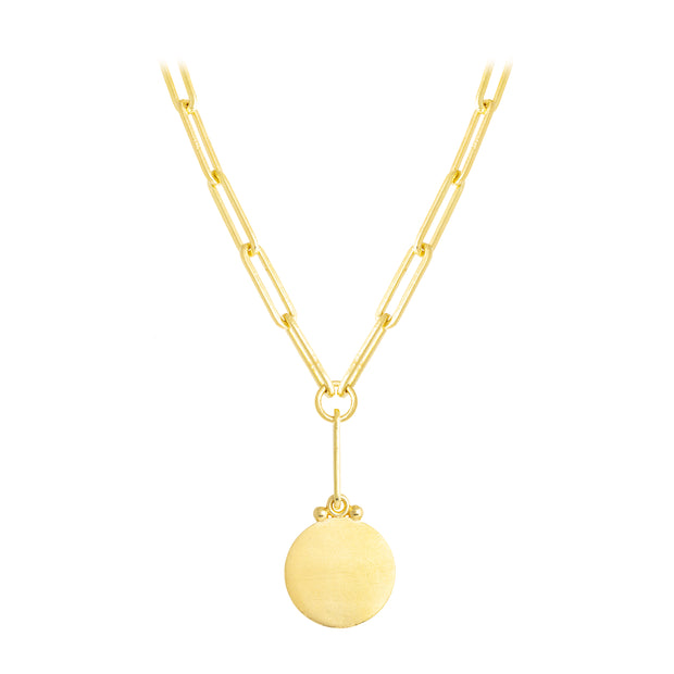 LPL Signature Collection 18k Yellow Gold Long Link Necklace