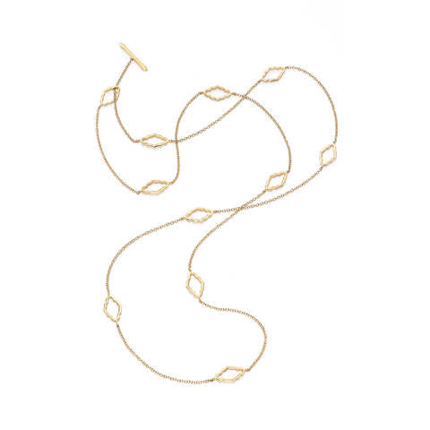 Katie Decker 18kt Yellow Gold Baroque Chain