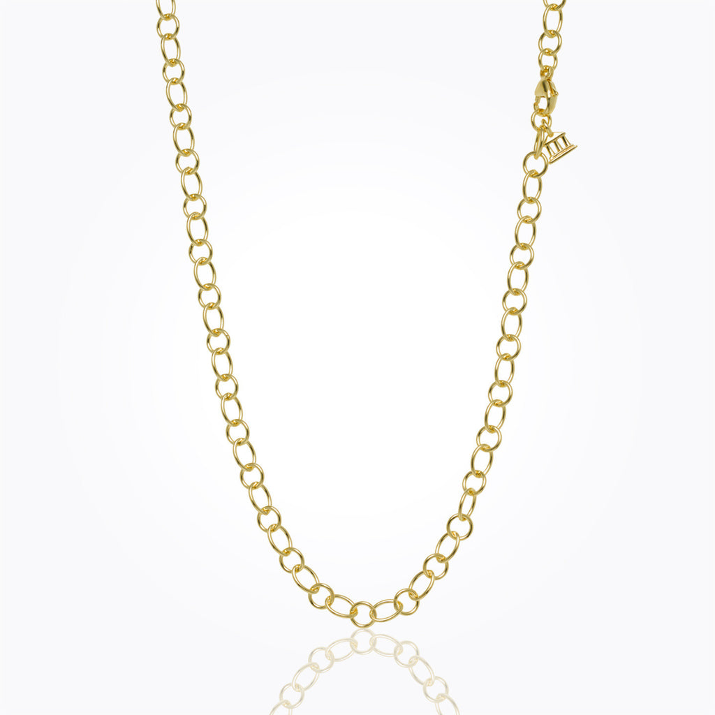 Temple St. Clair 18K Yellow Gold Ribbon Chain - 32""