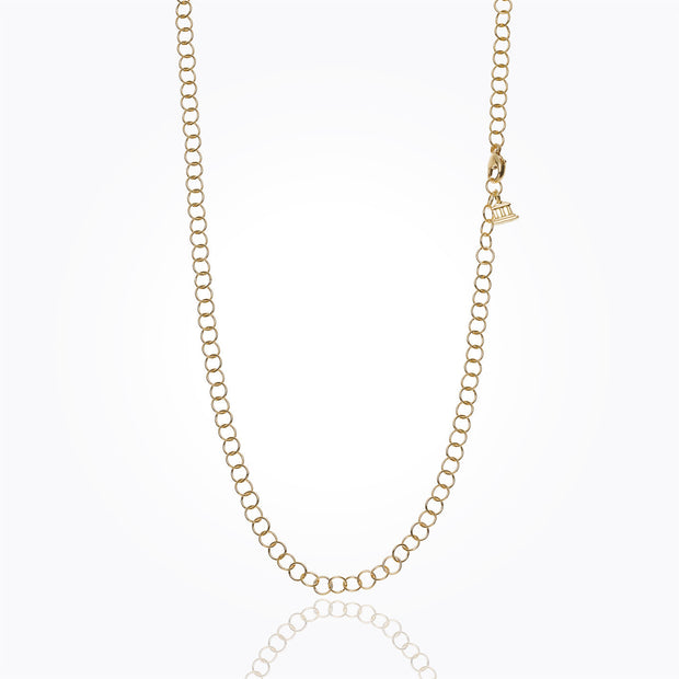 Temple St. Clair 18K Yellow Gold Small Round Chain - 24""