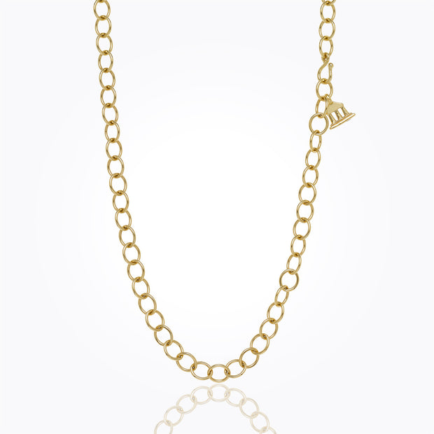 Temple St. Clair 18K Yellow Gold Classic Oval Chain - 32""