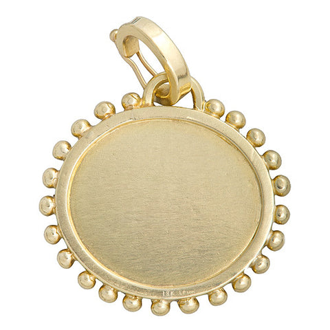 "LPL Signature Collection ""The Anne"" 18kt Yellow Gold Pendant"