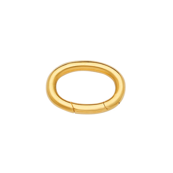 14K Yellow Gold Push-in Clasp