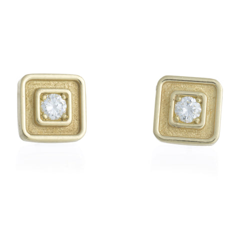 "LPL Signature Collection ""The Addie"" 18kt Yellow Gold and Diamond Earrings"