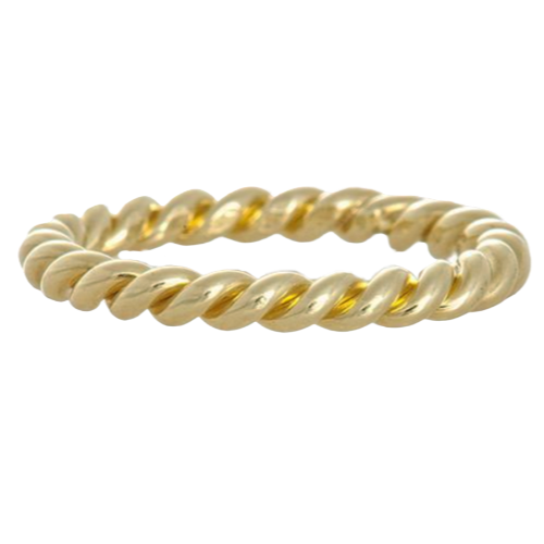 LPL Signature Collection 18k Yellow Gold Twist Band