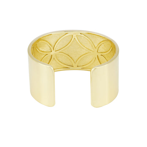 LPL Signature Collection 18k Yellow Gold Cary Cuff