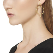 Temple St. Clair 18k Yellow Gold Diamond Round Drops