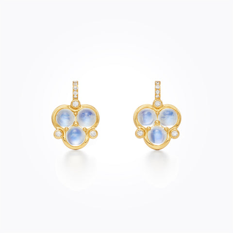 Temple St. Clair 18k Yellow Gold Blue Moonstone Drops