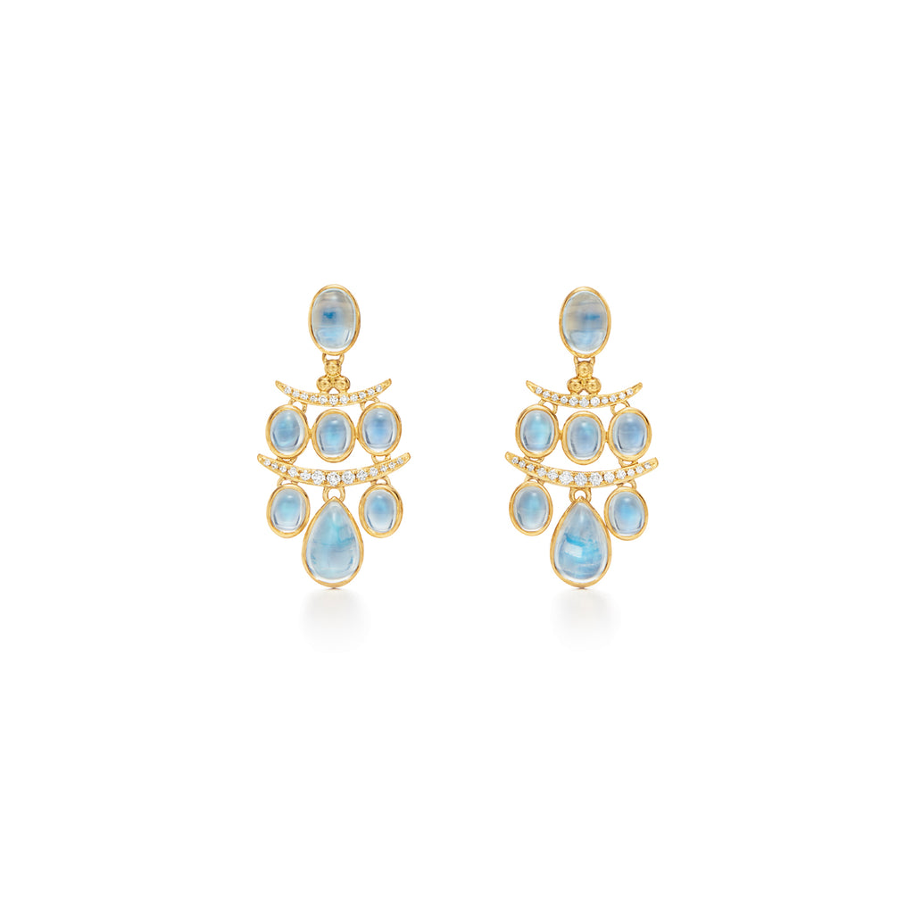 Temple St. Clair 18K Yellow Gold Seta Small Earrings