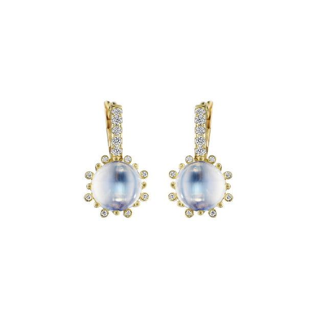 Penny Preville 18k Yellow Gold Moonstone Drops
