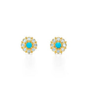 Temple St. Clair 18k Yellow Gold Stella Mini Earring