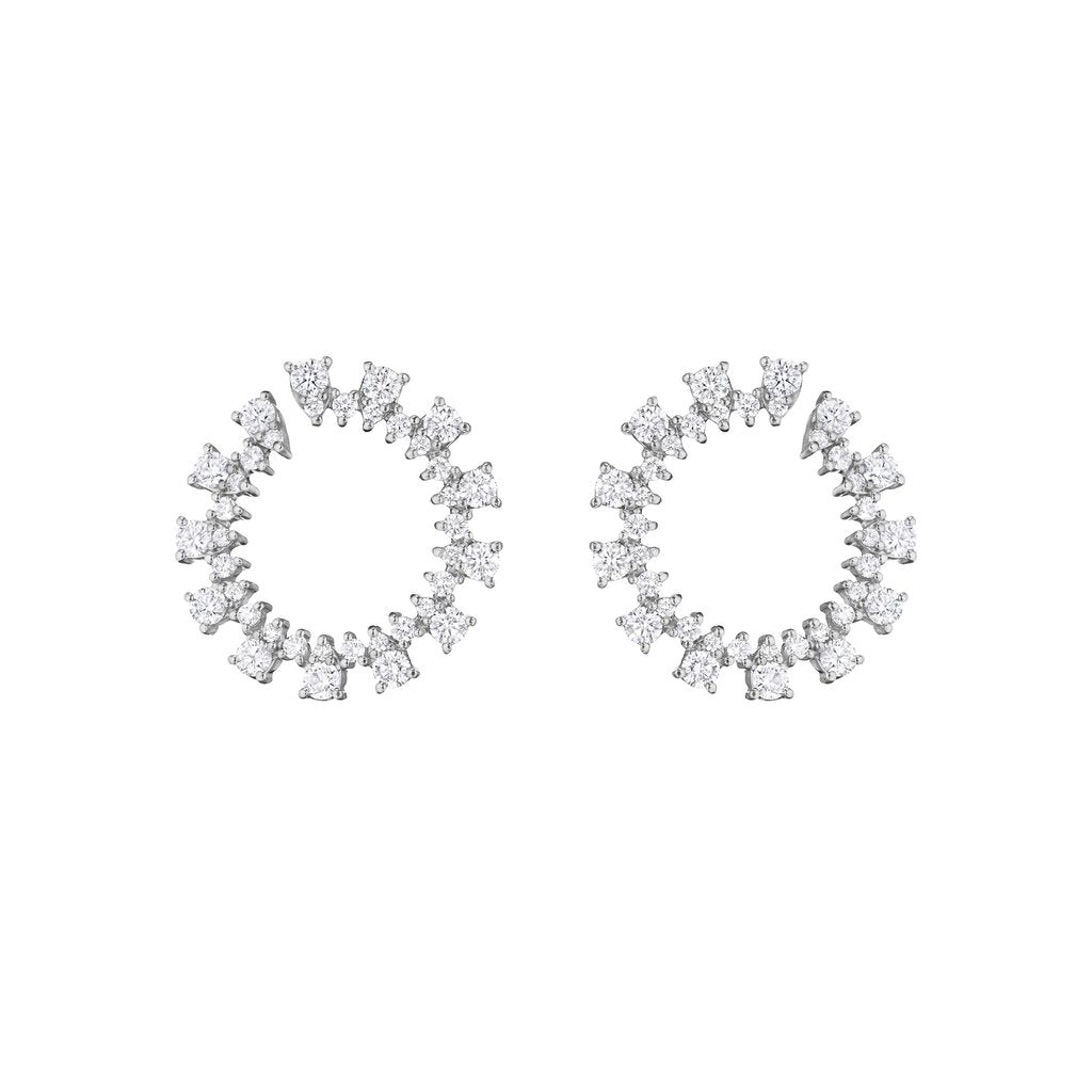 Penny Preville Front to Back Hoop Earrings