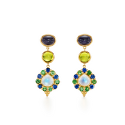 Temple St. Clair 18k Yellow Gold Color Theory Earrings