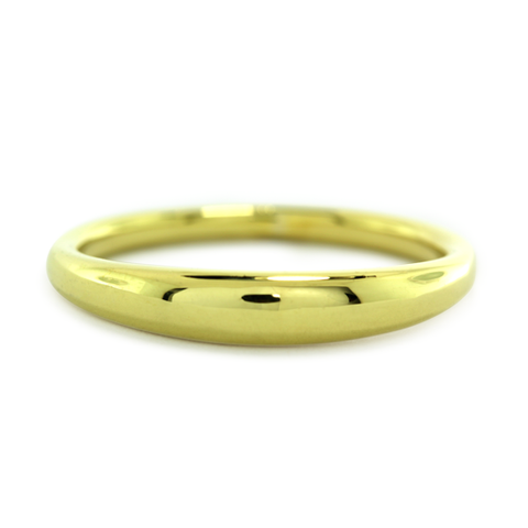 14k Yellow Gold Bali Ring